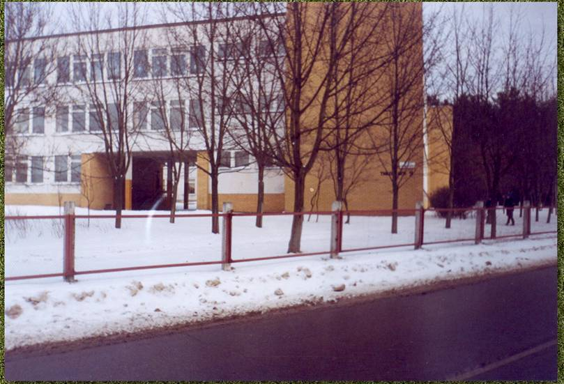 Любимая школа зимой